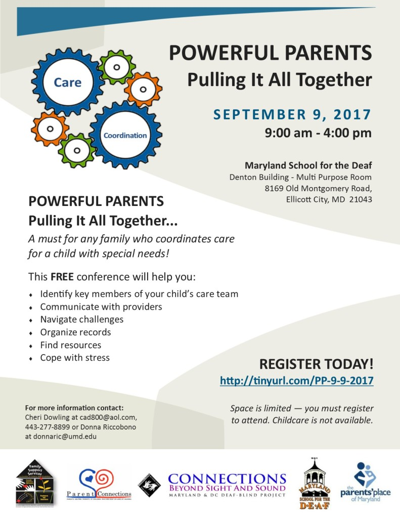 powerful parents conference flyer