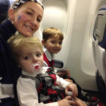 Fantasy Flight 2014 photos -- children on airplane