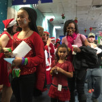 Fantasy Flight 2014 photos -- children and families arrive at the North Pole