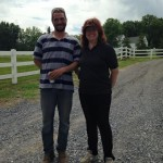 Murat and Annette owners of Hidden Brook Stables